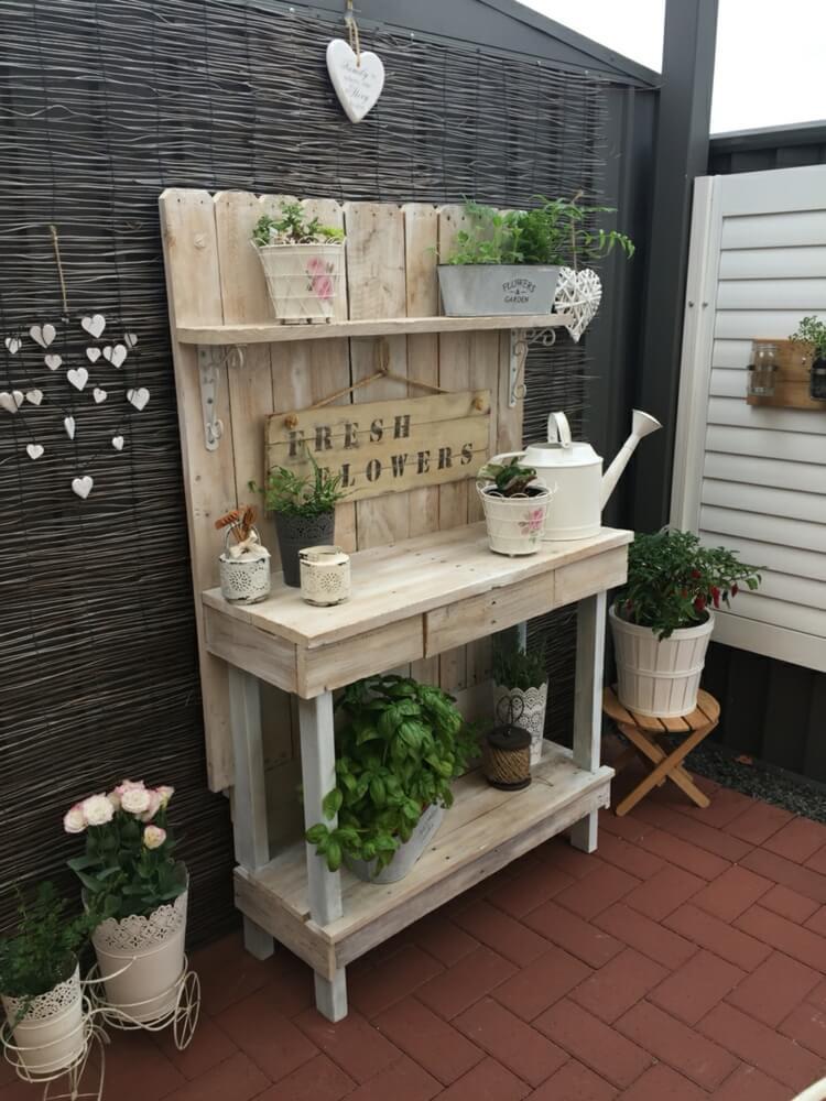 Garden Potting Bench Ideas Garden Designs
