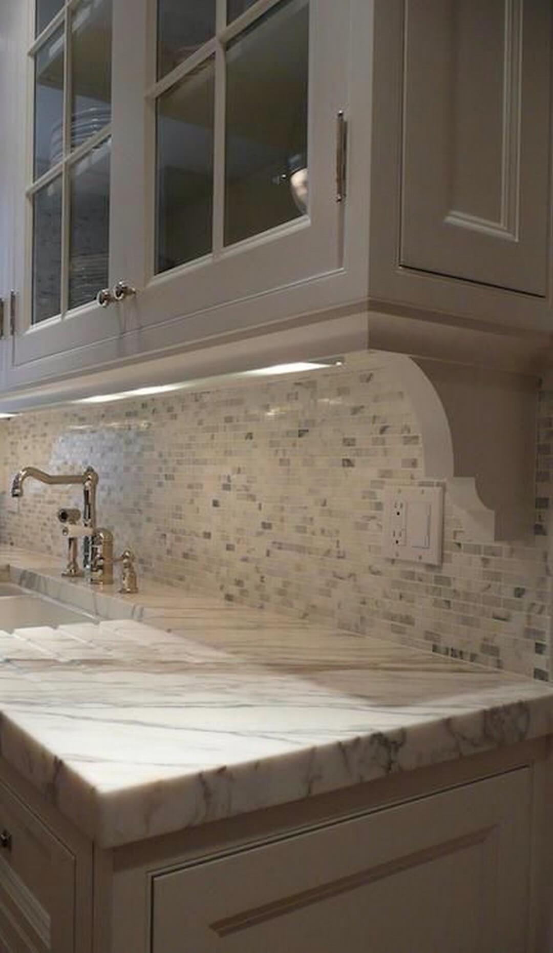 Simple Corner Molding Cabinet Detail