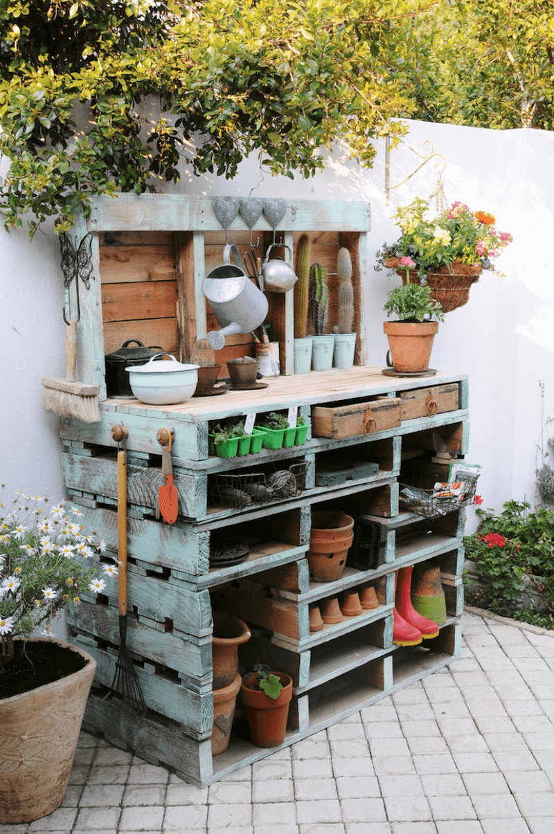 27 Best Potting Bench Ideas And Designs For 2020