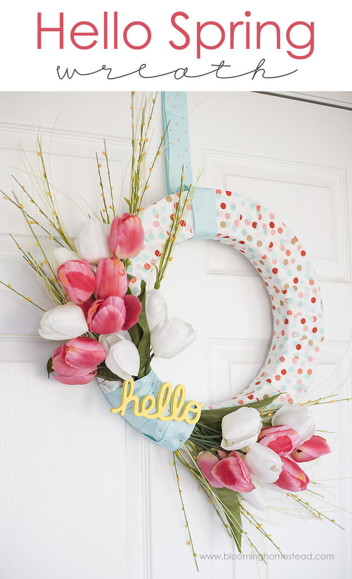 Bold Polka Dot and Tulip Greetings