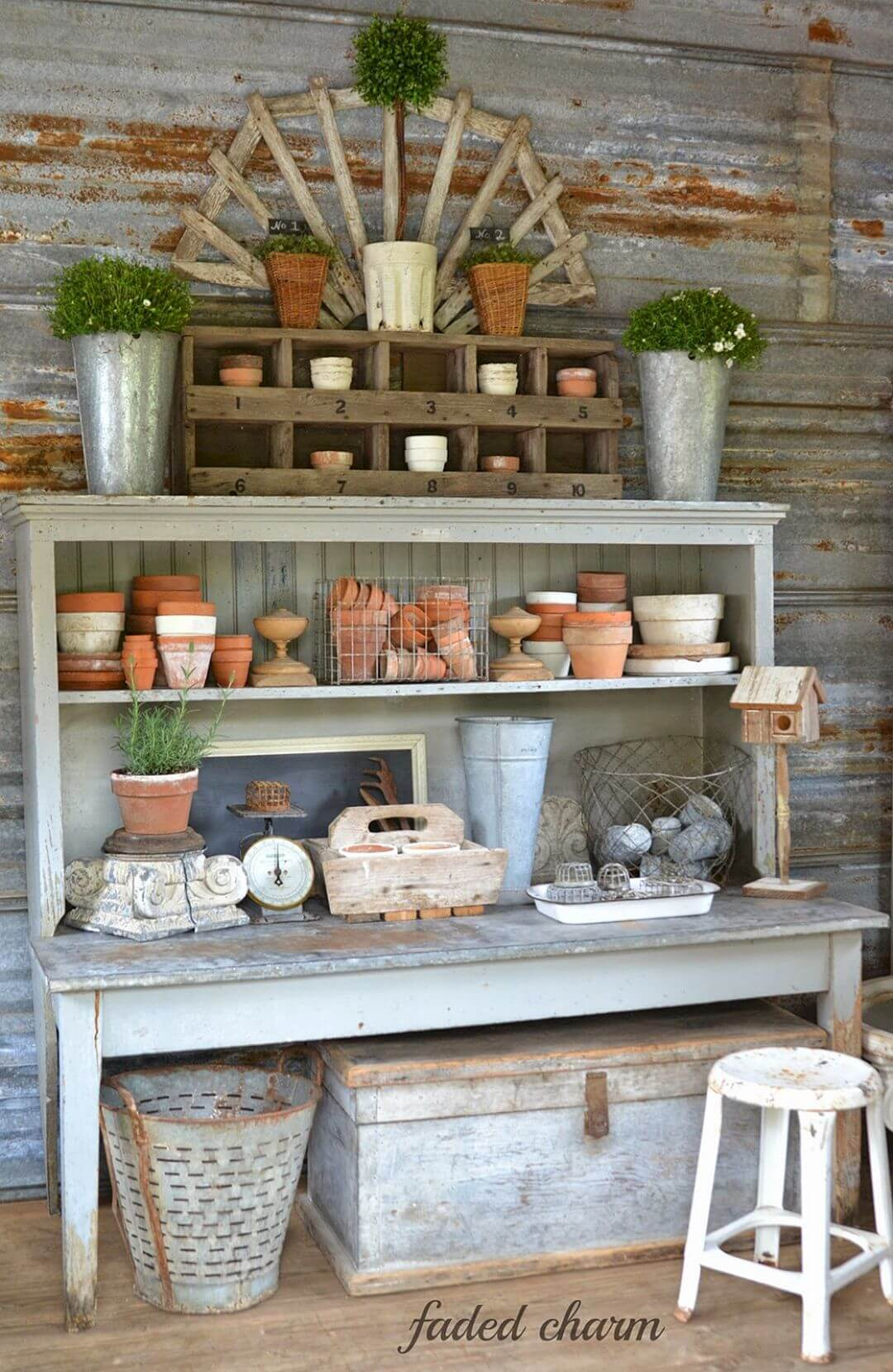 27 Best Potting Bench Ideas And Designs For 2019