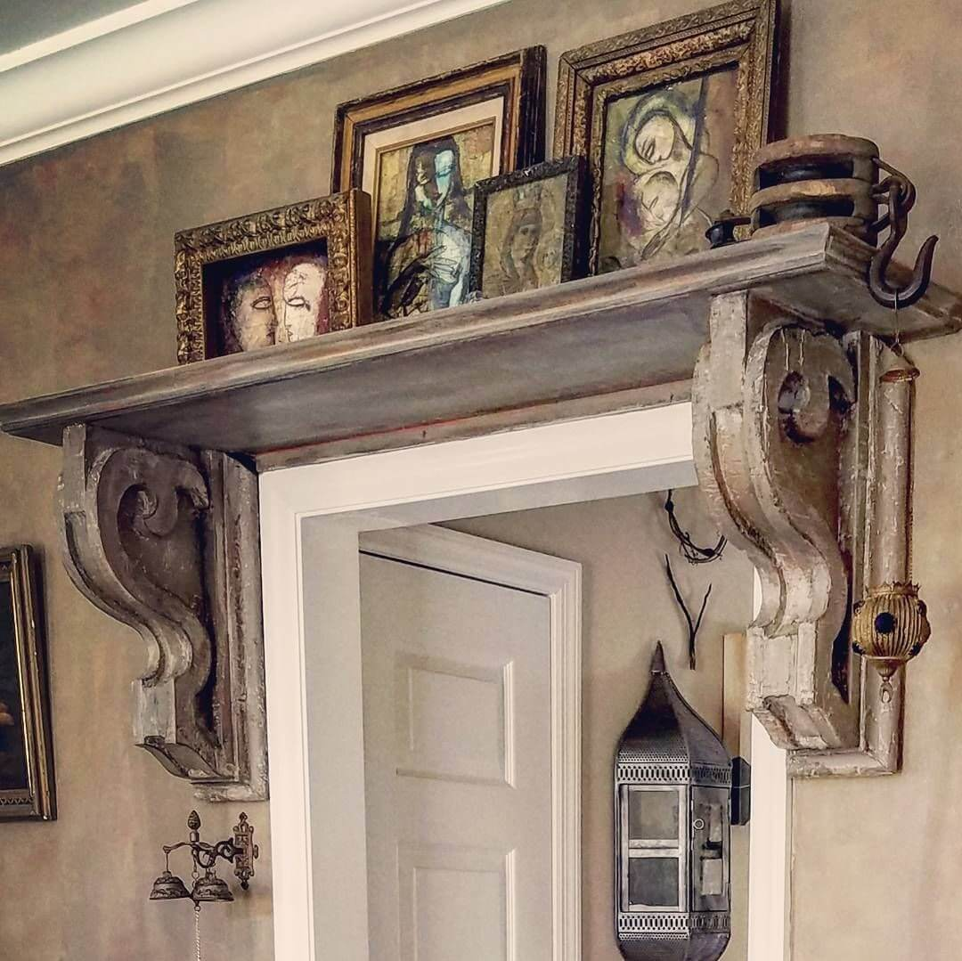 Door Decorating Ideas Home Decor And Design Image Of: 37 Best Corbel Decoration Ideas And Designs For 2019