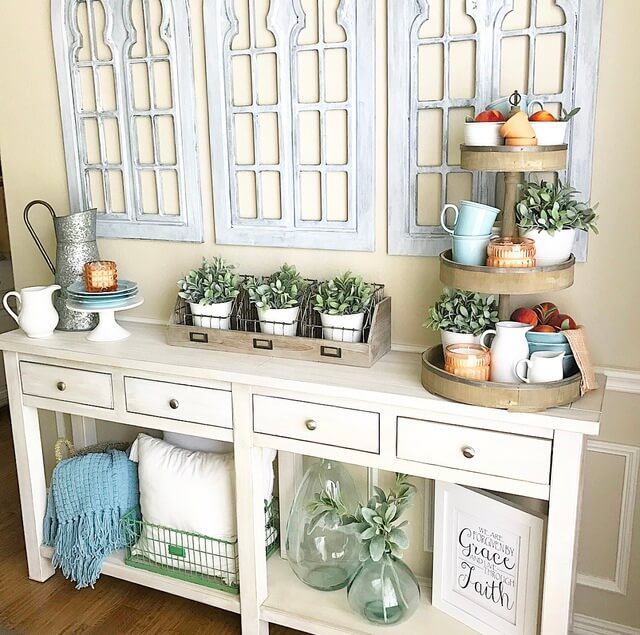 33 Best Farmhouse Style Tray Decor Ideas And Designs For 2019