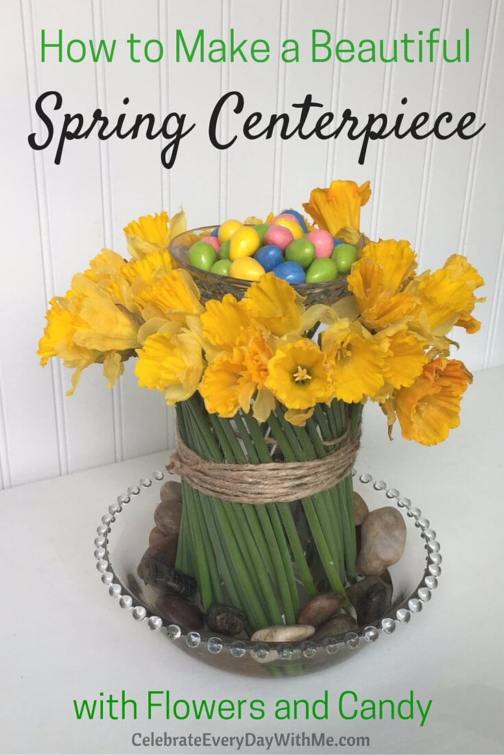 Unique Spring Centerpiece Ideas with Daffodils