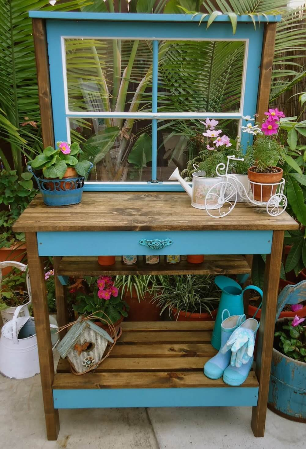 27 Best Potting Bench Ideas and Designs for 2018
