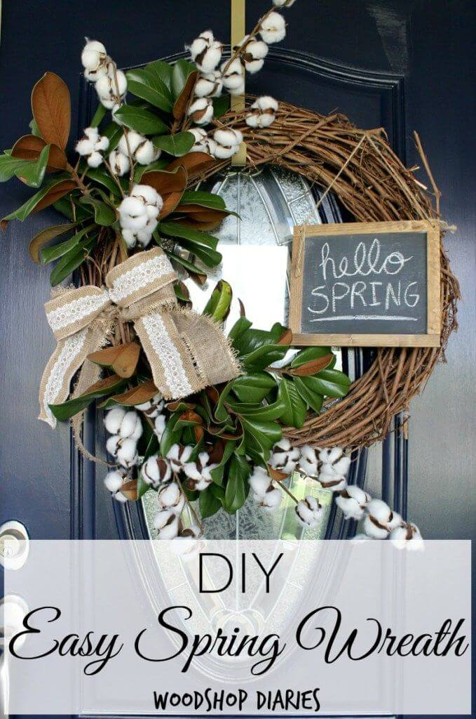 27 Best Diy Spring Wreath Ideas And Designs For 2019