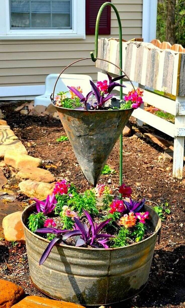 33 Best Repurposed Garden Container Ideas And Designs For 2019