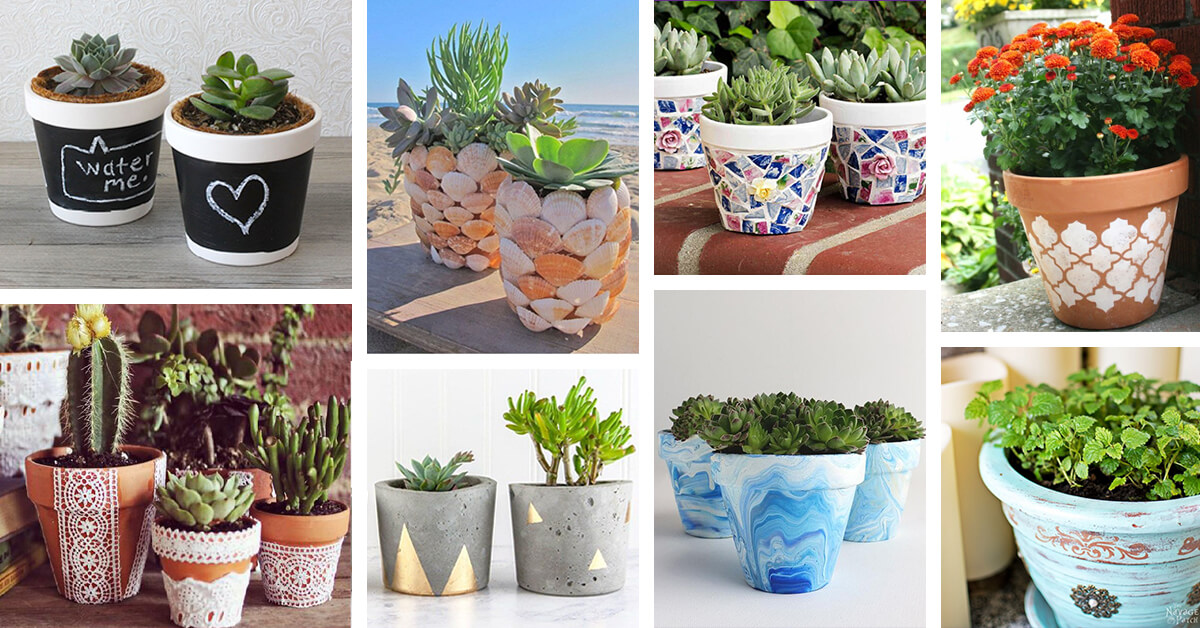 30 Best Diy Flower Pot Ideas And Designs For 2020