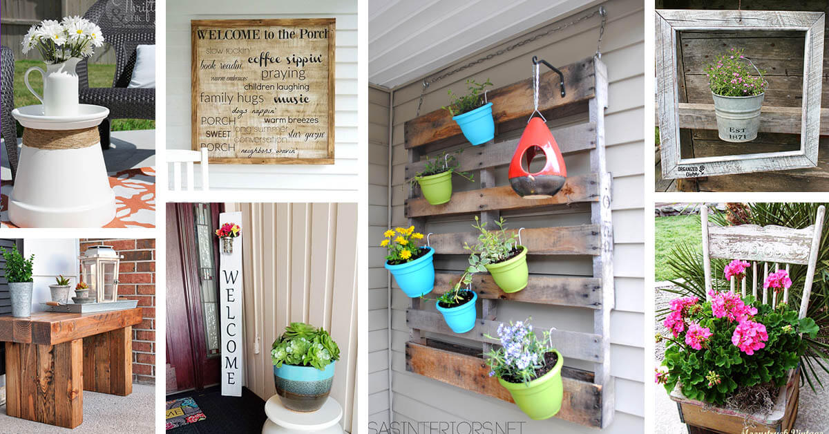 32 best diy porch and patio decor ideas and designs for 2018