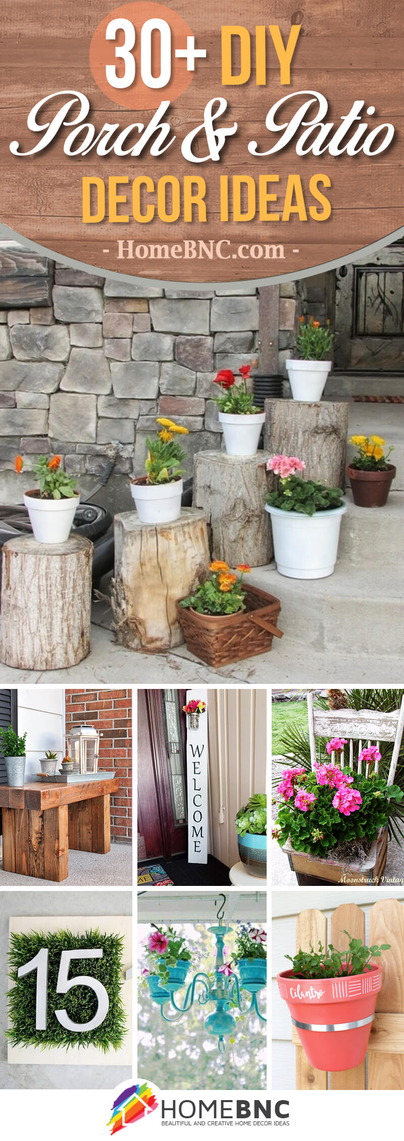 DIY Porch and Patio Decor Ideas