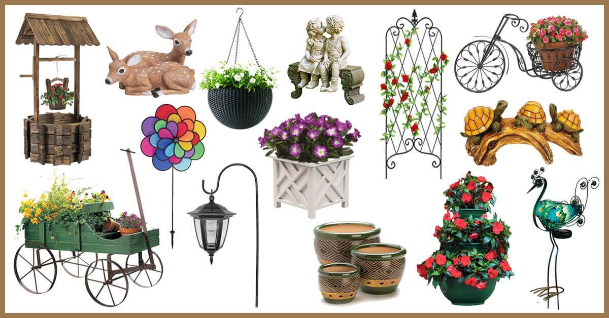 The Best Outdoor Decor Items To Make Your Patio And Garden