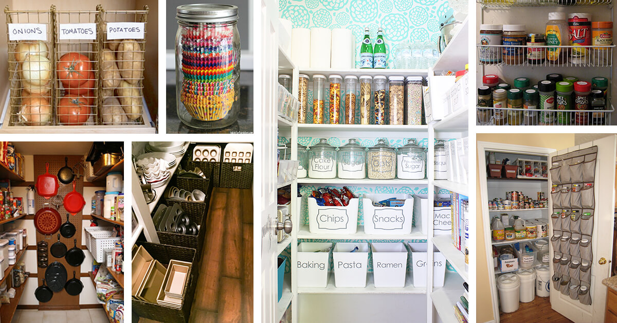 29 Practical Pantry Organization Ideas that will Save You a Lot of Space
