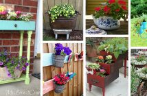 Repurposed Garden Container Ideas