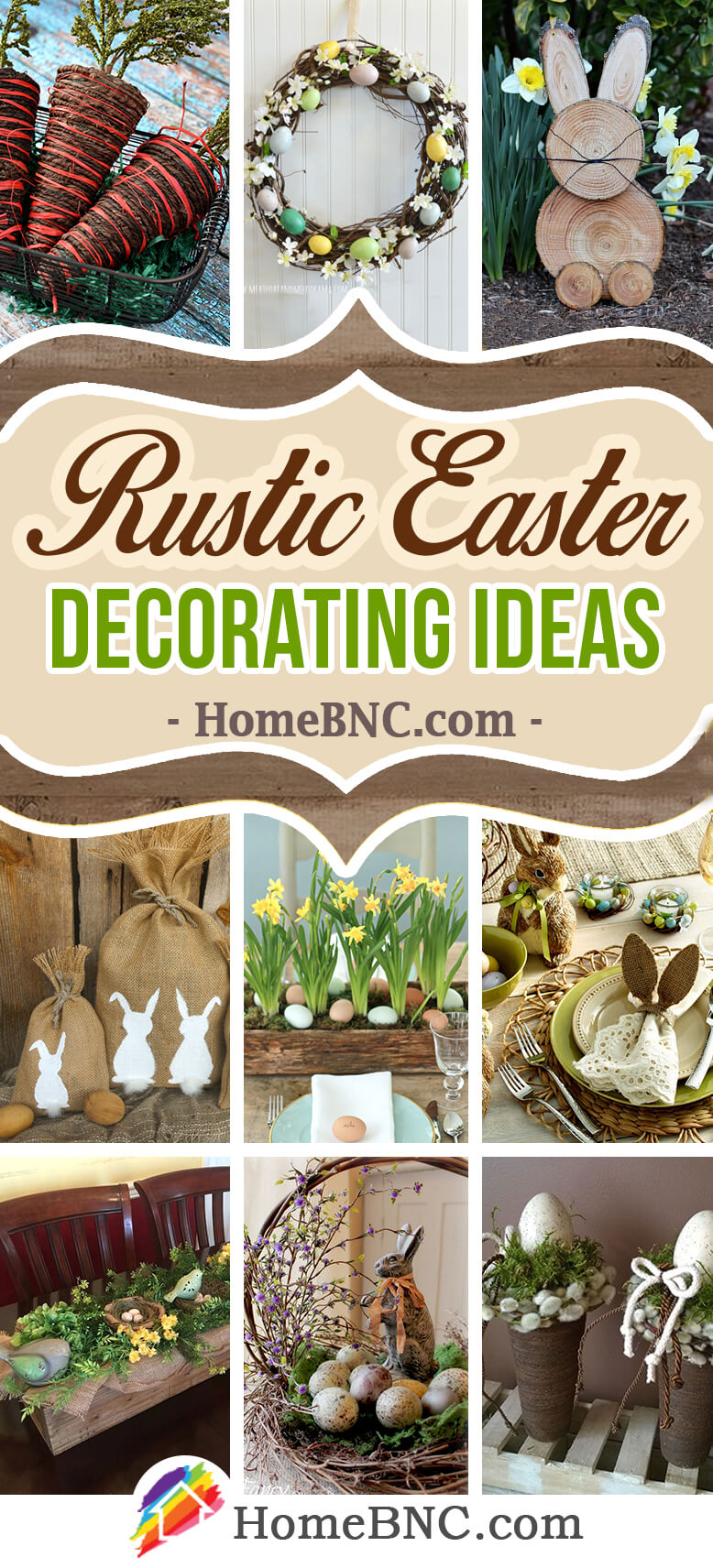 34 Best Rustic Easter Decoration Ideas and Designs for 2019