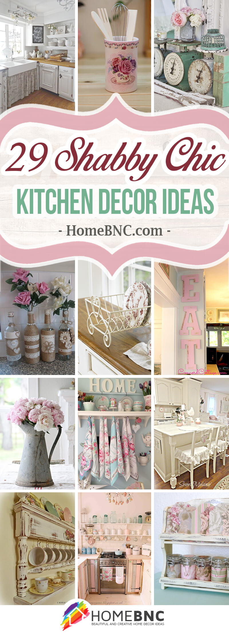 29 Gorgeous Shabby Chic Kitchen Decor Ideas For That Lived In Look