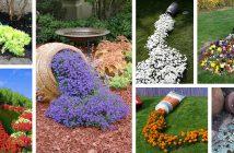 Spilled Flower Pots