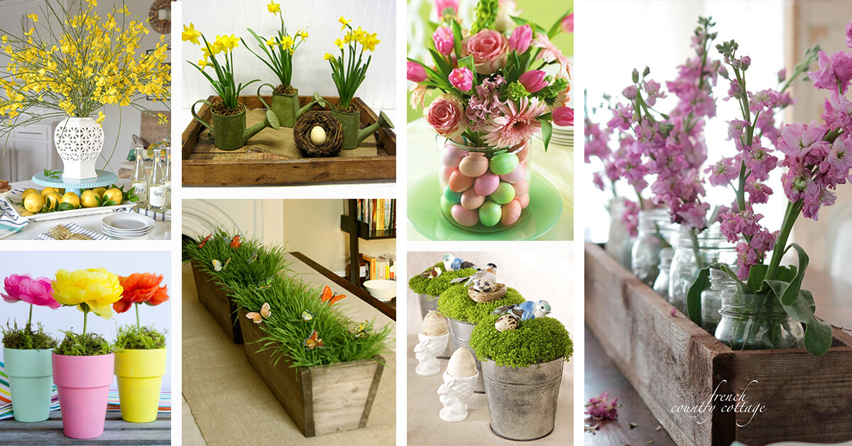 37 best spring centerpiece ideas and designs for 2019 rh homebnc com  spring table centerpieces ideas