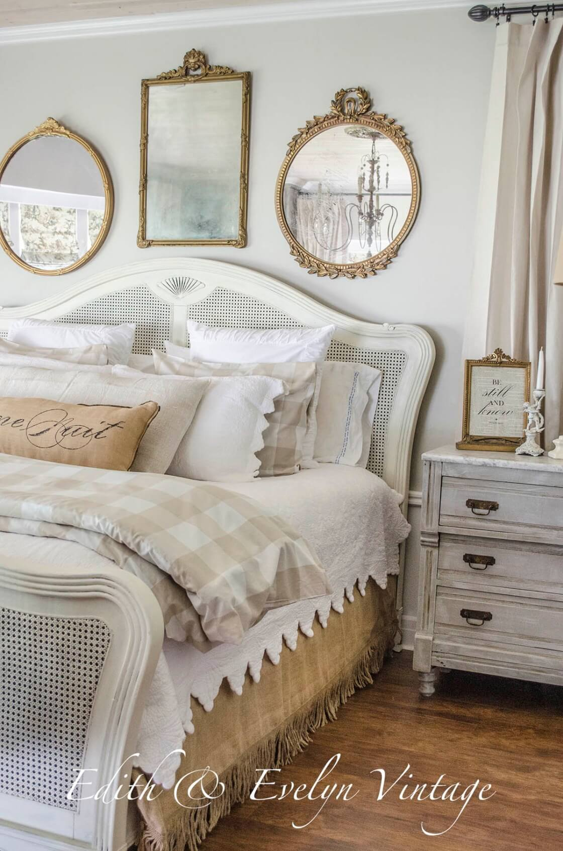 Homebnc & 30 Best French Country Bedroom Decor and Design Ideas for 2019