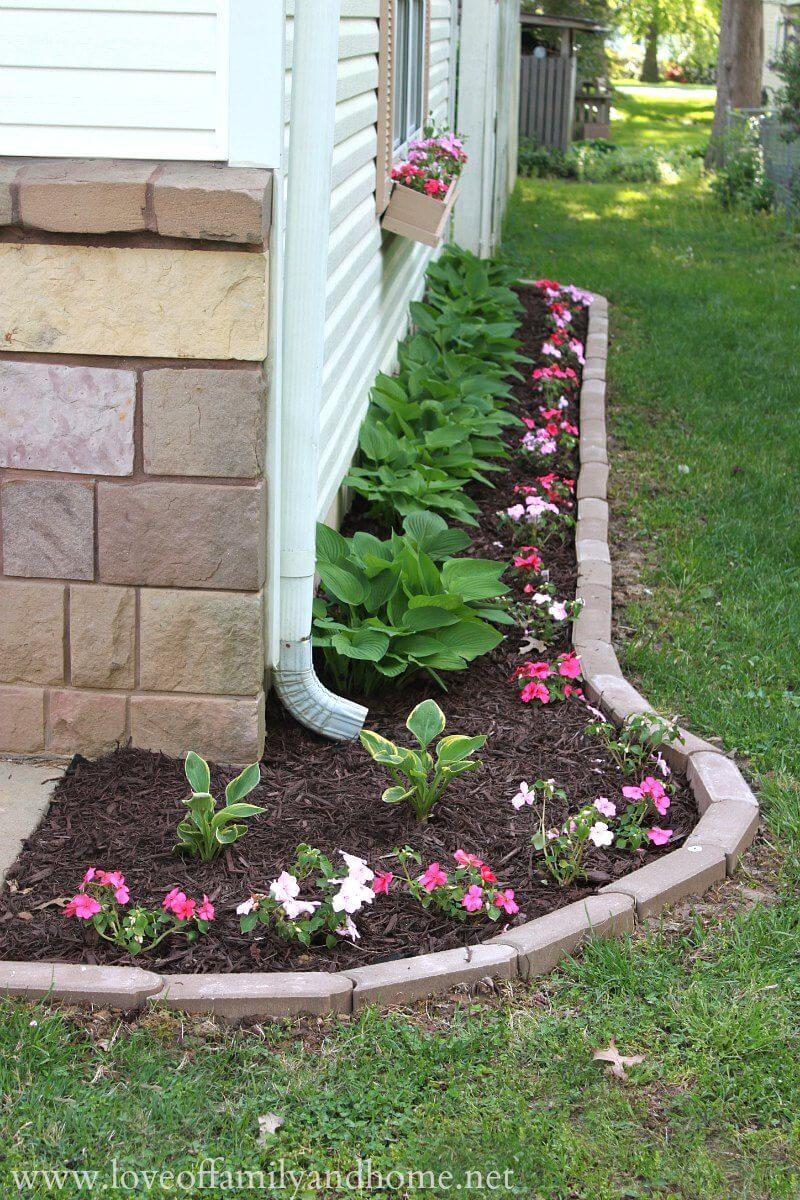 25 best lawn edging ideas and designs for 2018 for Flower bed edging ideas