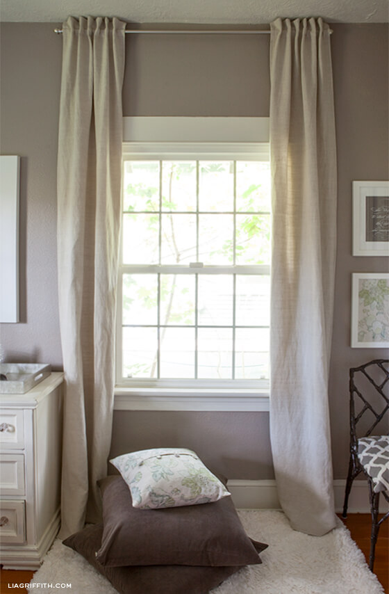 Merveilleux 2. Easy And Pretty Back Tab Curtains