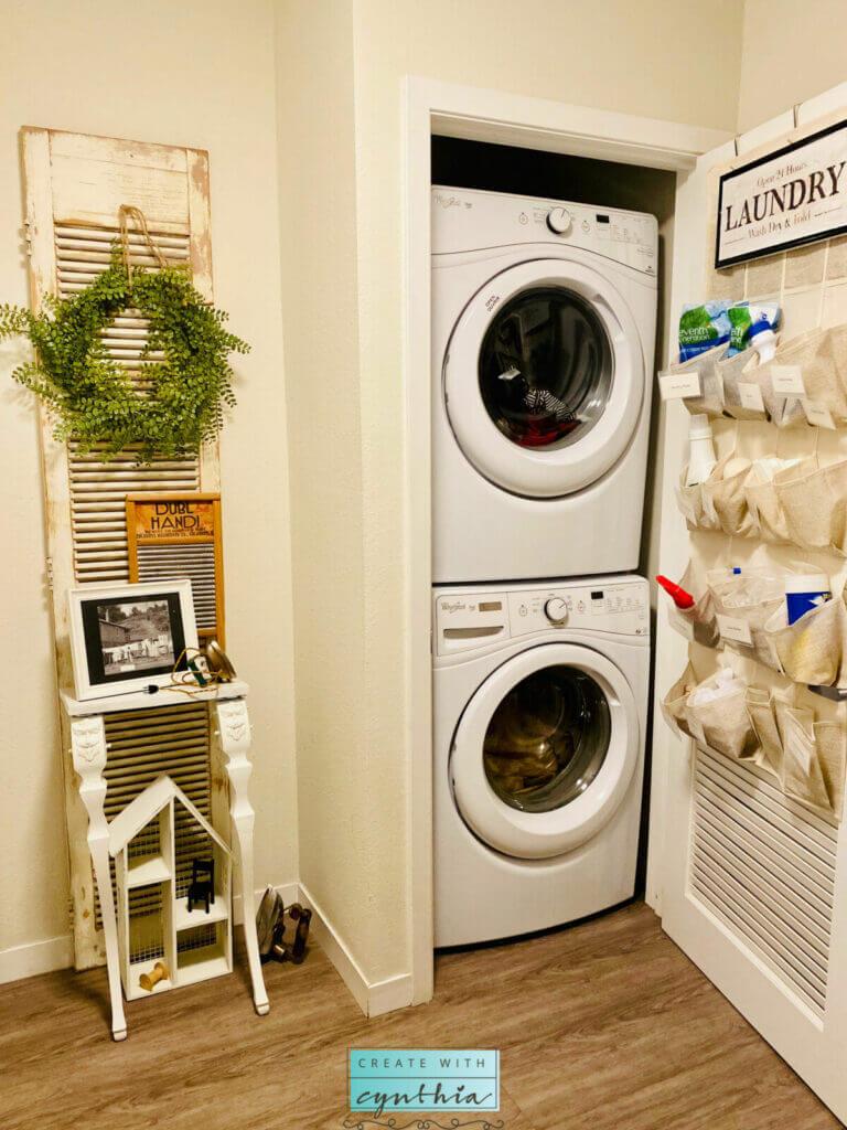 Super Storage Solutions Laundry Closet