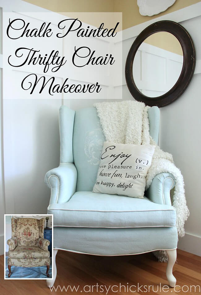 DIY Shabby Chic Furniture Idea with Chalk Paint