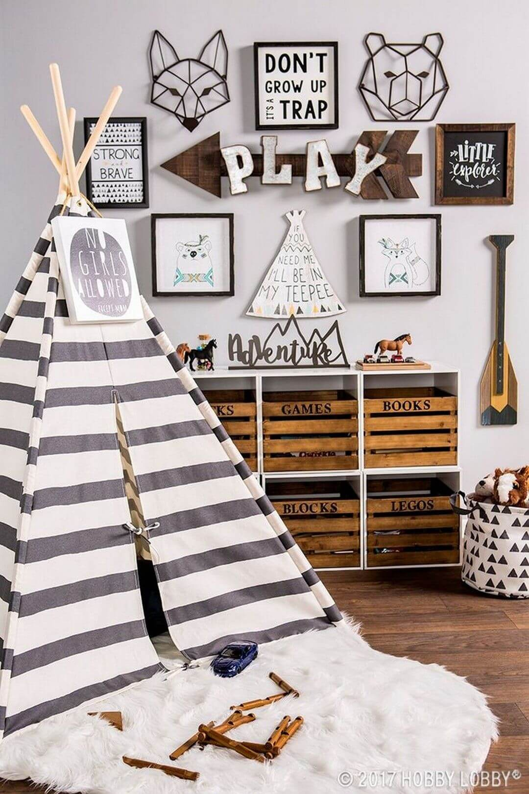 Kid Room Decor for Outdoor Adventures