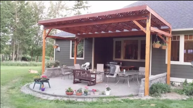 Build a Covered Roof for Your Patio