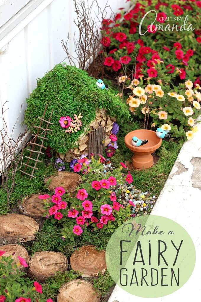 Adorable DIY Garden for your Fairies