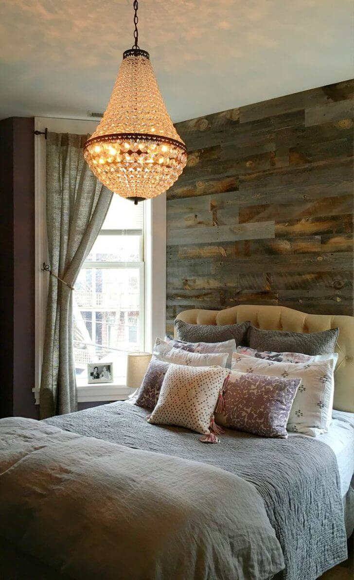 26 best rustic bedroom decor ideas and designs for 2018 for Rustic elegant bedroom