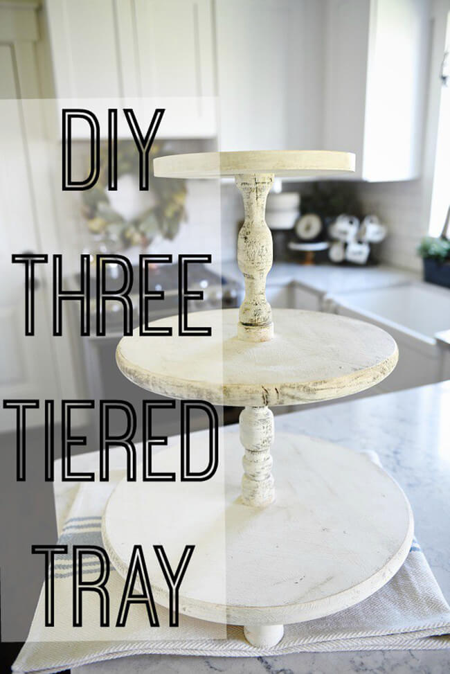 Construct This Easy Three Tiered Tray