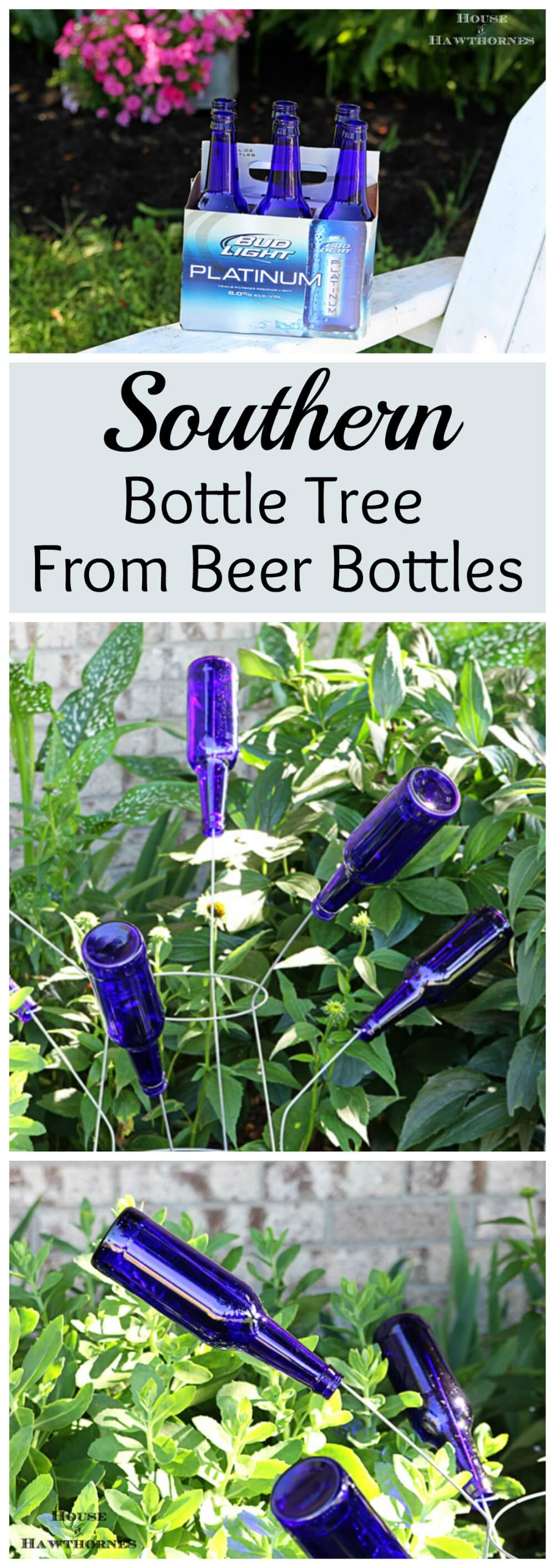 Recycle Your Bottles with this DIY Tree