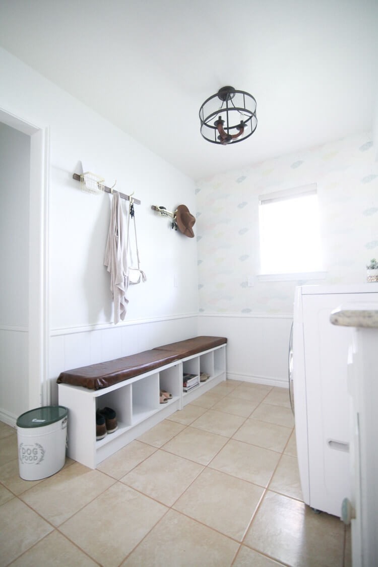 All-in-One Mud & Laundry Room