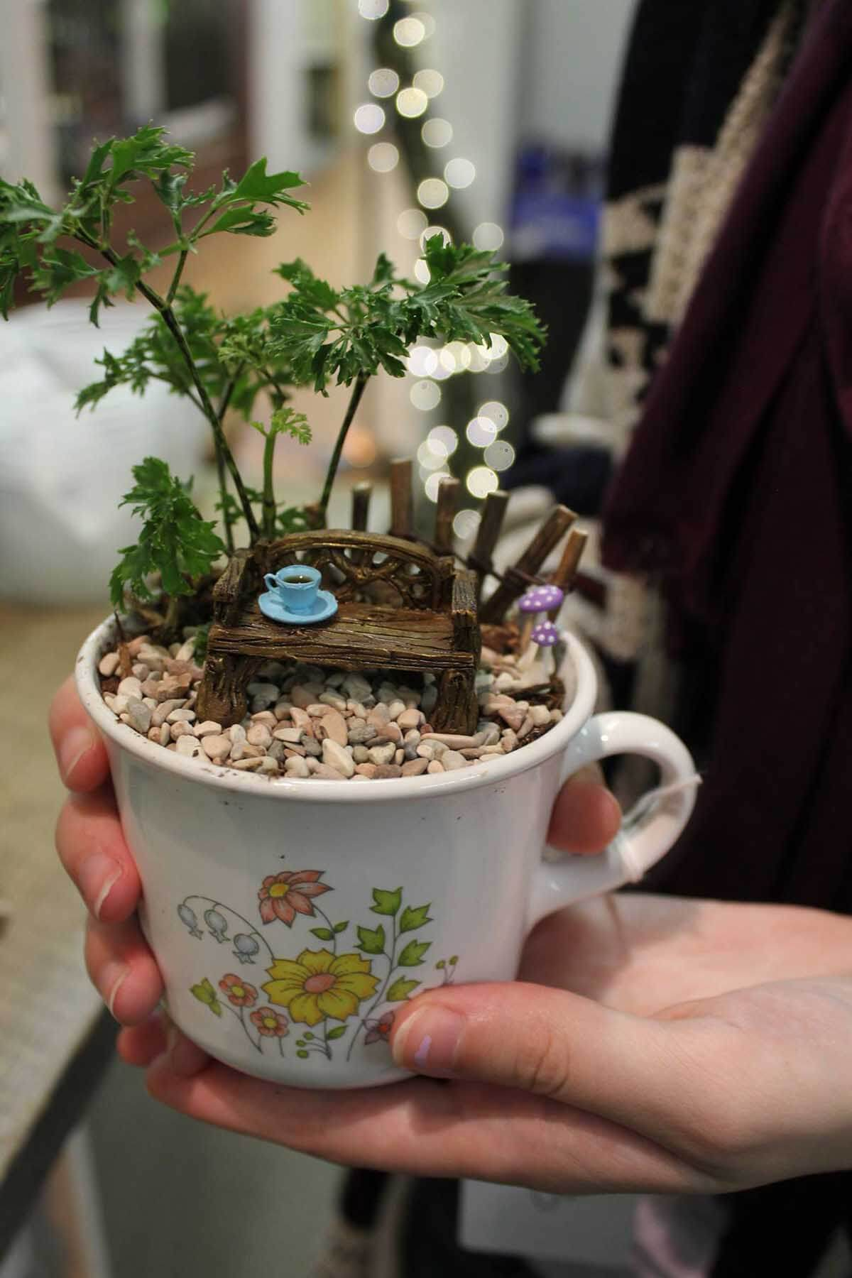Coffee for Fairies under a Tree