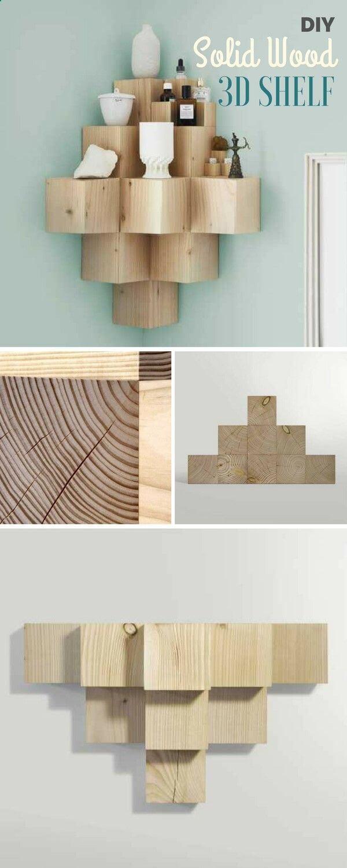 Make Your Own 3D Shelf