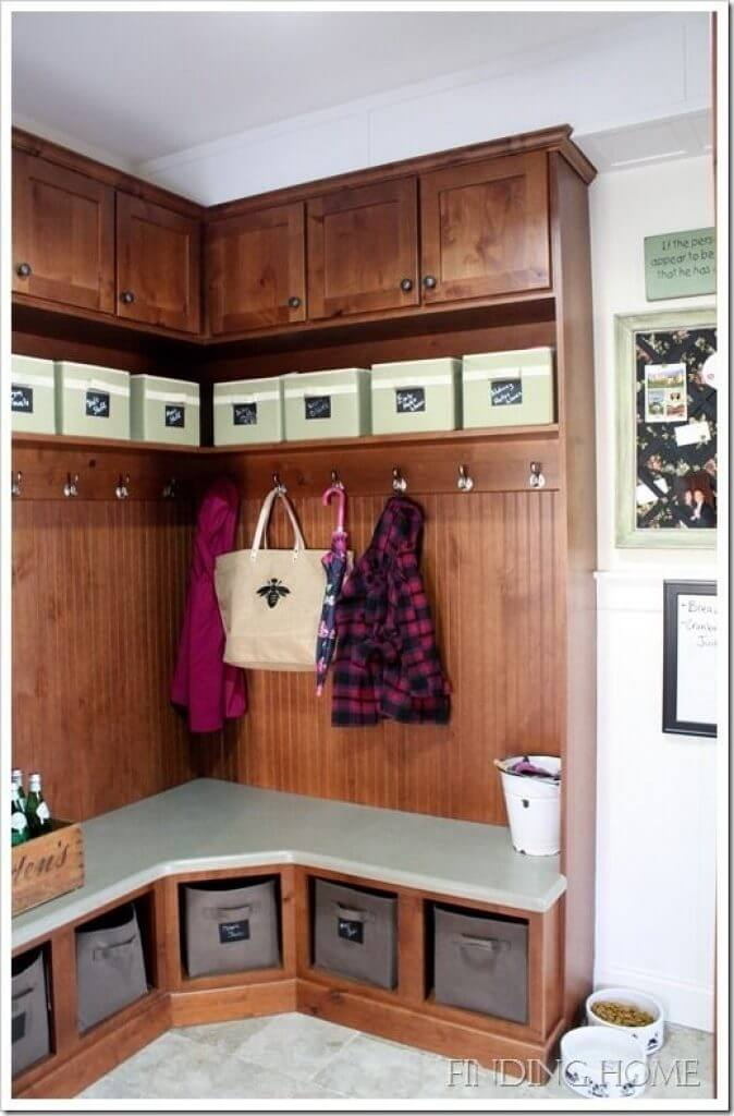 Storage Ideas for the Entryway