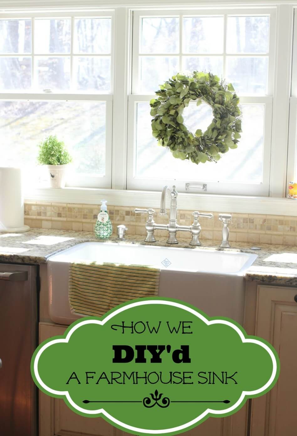 Farmhouse Sink Project for Your Kitchen