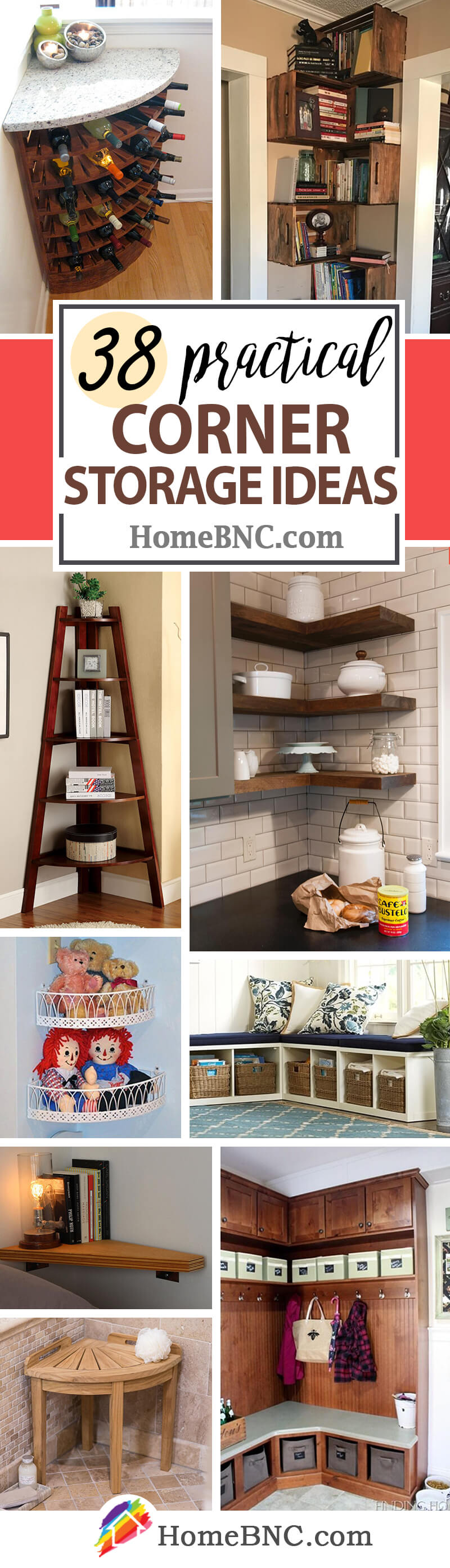 Corner Storage Ideas