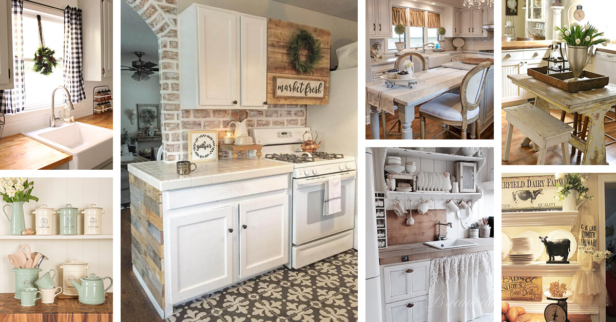 27 Best Country Cottage Style Kitchen Decor Ideas And Designs For 2019