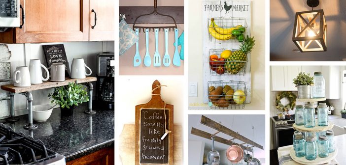 35 Best Diy Farmhouse Kitchen Decor Projects And Ideas For 2021