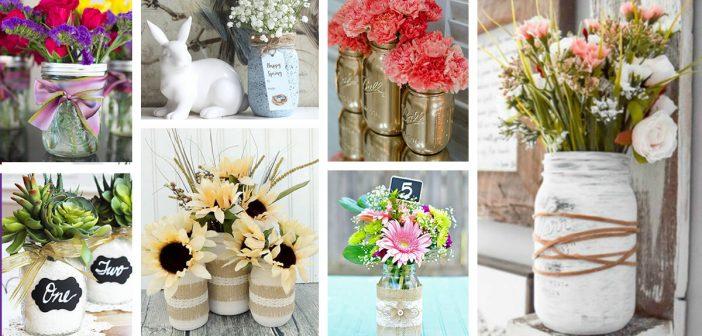 29 Best Diy Mason Jar Flower Arrangements Ideas And Designs For 2018