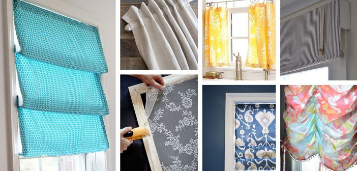 35 Best Diy Window Treatment Ideas And