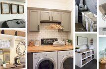 Farmhouse Laundry Room Designs