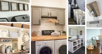 34 Farmhouse Laundry Room Ideas To Organize Your Laundry With Charm