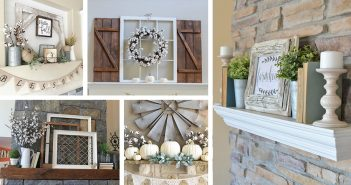 Farmhouse Mantel Designs