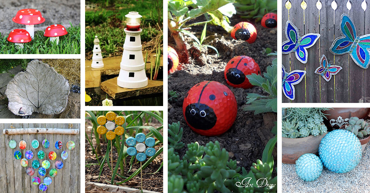 27 Best Garden Art Diy Projects And Ideas For 2018