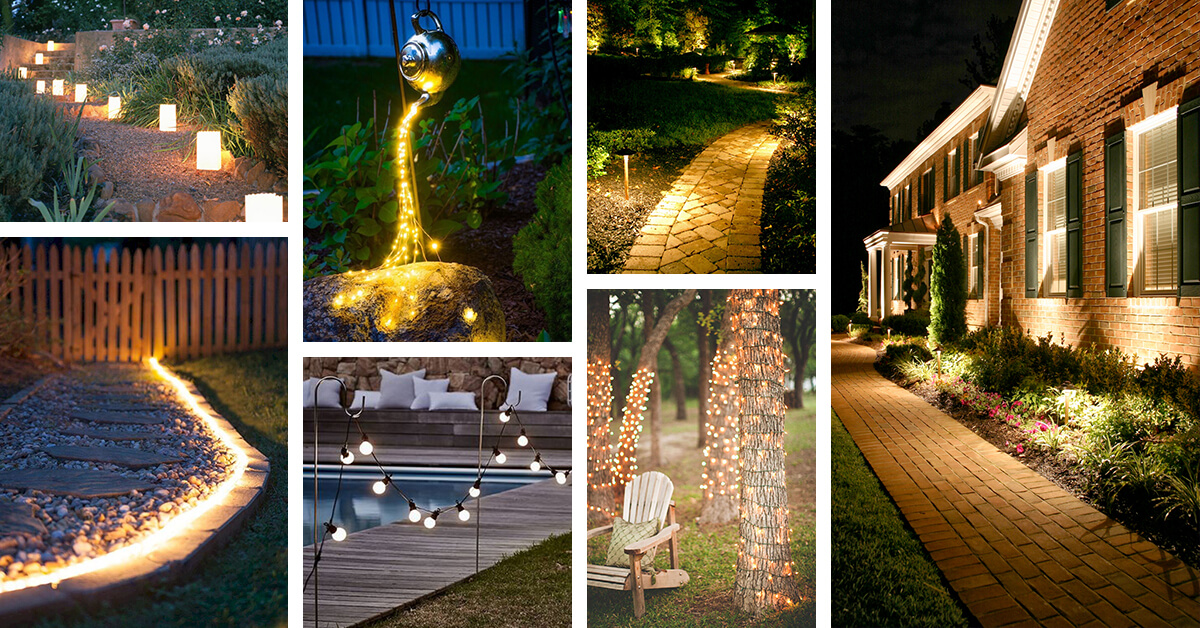 25 Creative Landscape Lighting Ideas To Give A New Look Your Outdoor E