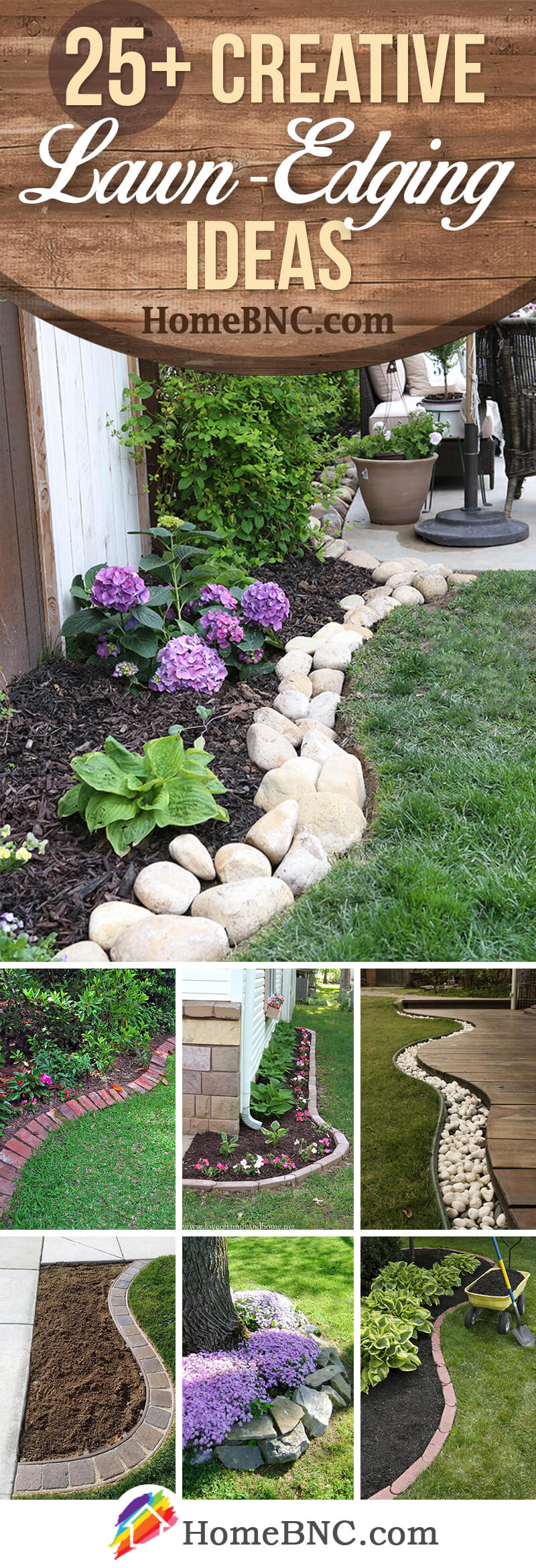 Lawn-Edging Ideas