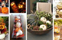 Pumpkin Centerpiece Ideas