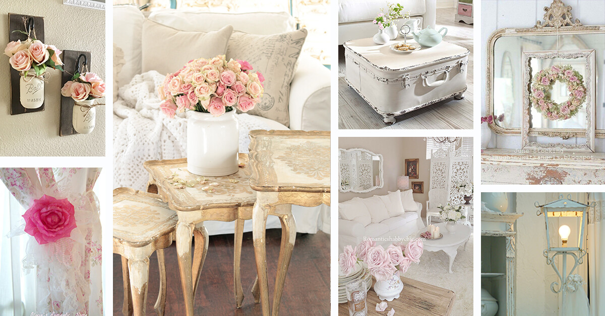 32 Best Shabby Chic Living Room Decor Ideas And Designs For 2019